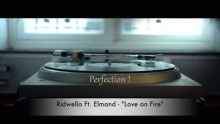 Love On Fire (Lyric Video) - Ridwello Ft. Elmand